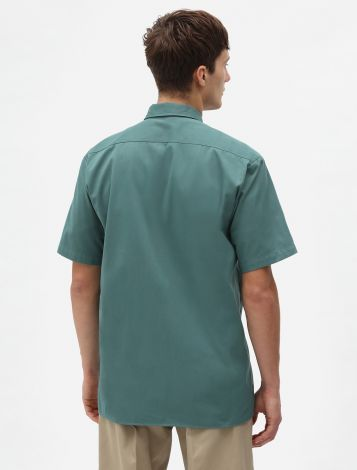 Chemise Manches Courtes Style Ouvrier