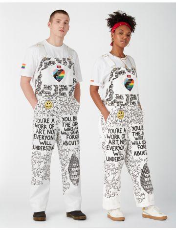 """Uniquely Yours""-Pride-Kollektion: Work of Art-Latzhosen"
