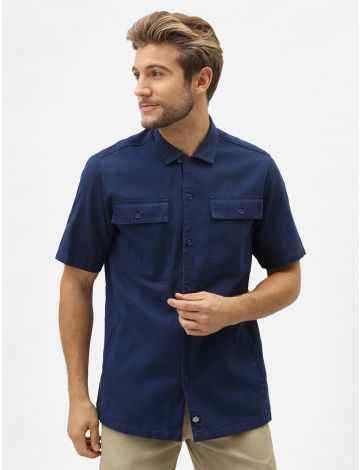 Pine Lake Men's Short-Sleeved Revere Shirt