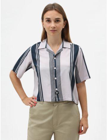 Senola Cropped Revere Overhemd