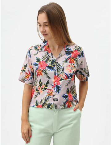 Talmo Women's Cropped Revere Shirt