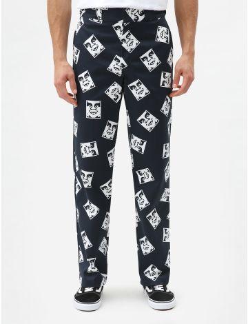 Obey Vs Dickies Men's Trousers