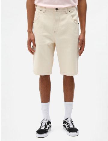Pantalón corto de sarga pura Garyville