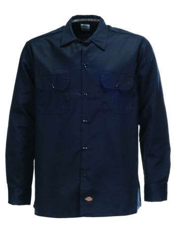 Dickies Slim Fit Long Sleeve Work Shirt
