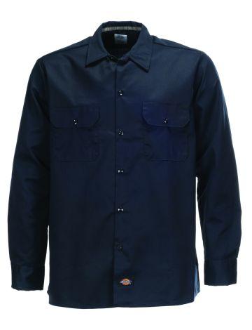 Dickies Slim Fit Long Sleeve Work Shirt
