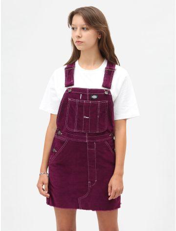 Dickies Womens New Liberty Bib Dress