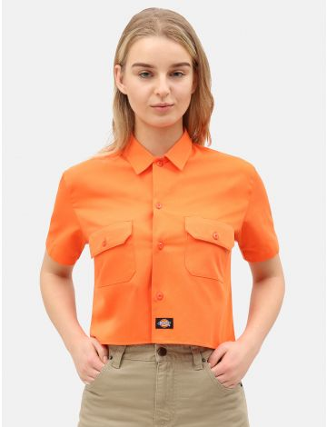 Women's Cropped Work Shirt
