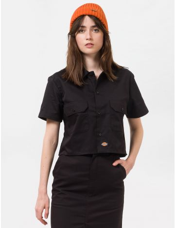 Dickies Womens Cropped Work Shirt