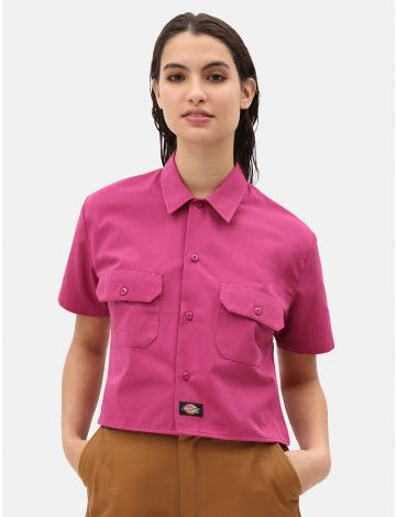 Womens Cropped Work Shirt