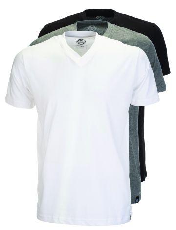 Dickies V-Neck Multi-Colour T-Shirt (3Pk)