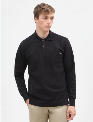 Dickies Long Sleeve Canmer Polo Shirt