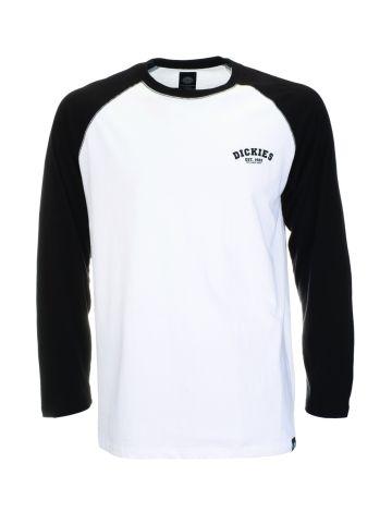 Dickies Womens Baseball T-Shirt