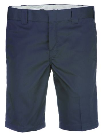 Pantalón Corto de Trabajo Entallado y Recto de 28 cm