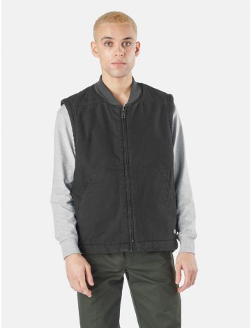 Sherpa Lined Duck Vest Relaxed