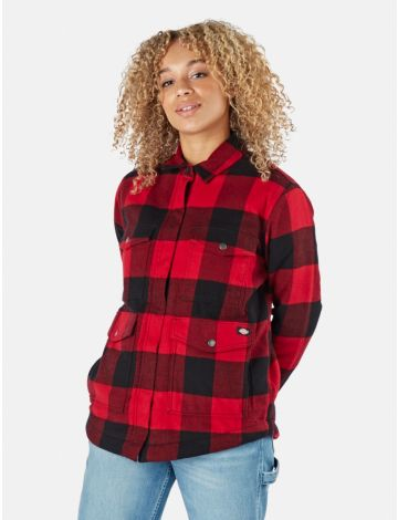 Flannel Sherpa Lined Jacket