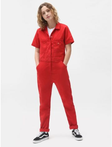 Womens Shortsleeve Coverall