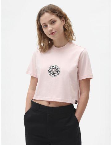 Globe T-Shirt Crop